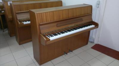 Piano droit d'occasion FUCHS ET MOHR merisier 109 cm