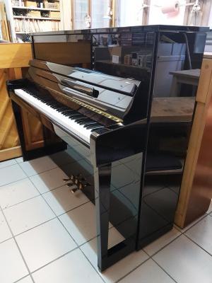 SCHIMMEL piano d'occasion C-120  + régulateur Dampp-CHASER + Banquette cuir SCHIMMEL