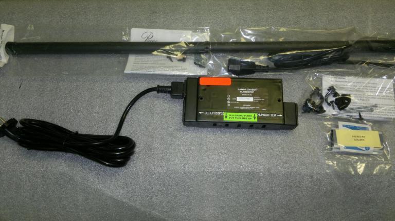 DAMPP-CHASER Kit Déshumidificateur 38W pour piano droit