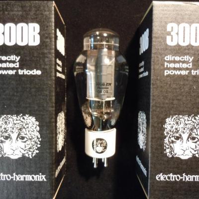 300B EH  Electro-Harmonix en DUET ( appairées par 2 )