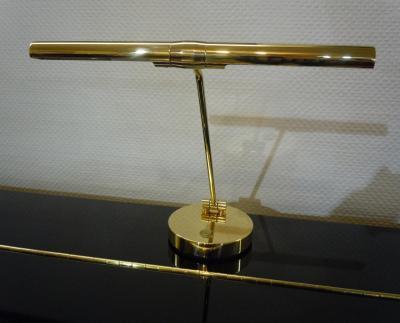 GAL-4401 Lampe de piano droit - Laiton brillant  - HALOGENE