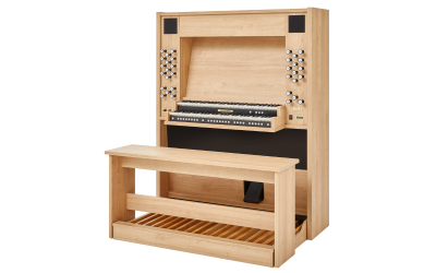 STUDIO P-150 JOHANNUS  orgue d'étude 2 claviers - Mélamine Light Riverside clair