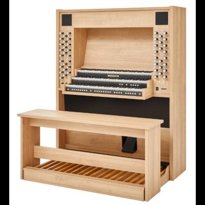 STUDIO P-350 JOHANNUS  orgue d'étude 3 claviers - Mélamine Light riverside