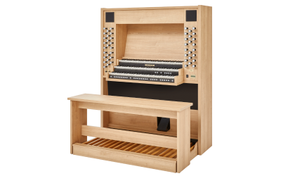 STUDIO P-350 JOHANNUS  orgue d'étude 3 claviers - Mélamine Light riverside