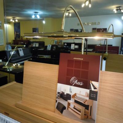 Lampe pour pianos à queue et orgues GAL-5433-HAL