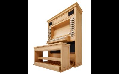 LIVE 2P JOHANNUS orgue 3 claviers avec 2 jeux d'échantillons de 44 registres et finition chêne clair