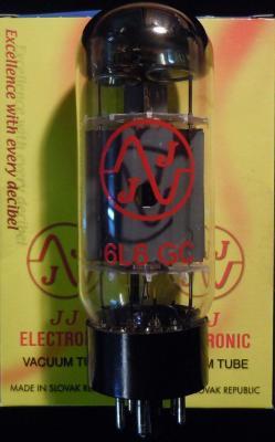 6L6GC JJ-ELECTRONIC en DUET ( appairées par 2 )
