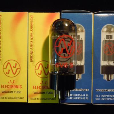6V6S JJ-ELECTRONIC en DUET ( appairées par 2 )