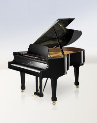 BECHSTEIN B-175 Piano à queue neuf en noir brillant 175 cm