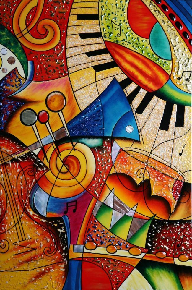Abstrait piano