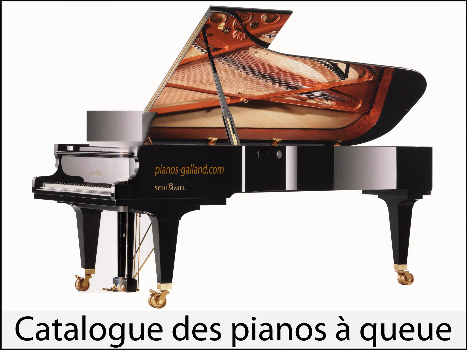Pianos à queue