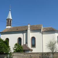 EGLISE St GEORGES ( 1885 ) d'ANDOLSHEIM ( orgue Sweelinck 2 claviers )