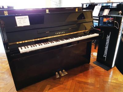 YAMAHA piano droit B1-SC2-PE 110 cm avec SILENT finition  noir brillant