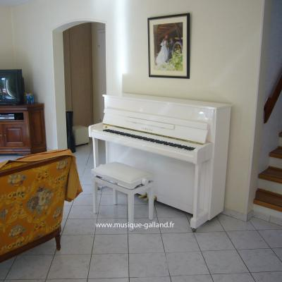 Piano neuf YAMAHA B2-BLANC 113cm