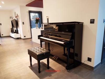YAMAHA piano droit B3e-SC2-PE 121 cm avec SILENT finition noir brillant