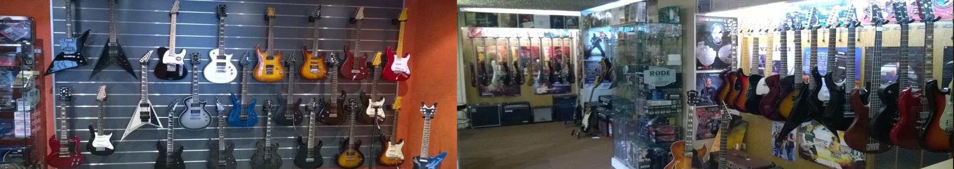 Exemples d'offres sur Guitares Classiques, Electriques, Folks
