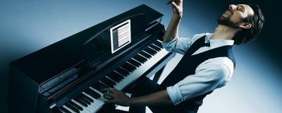 YAMAHA CSP170-PE noir brillant numérique arrangeur nouvelle génération