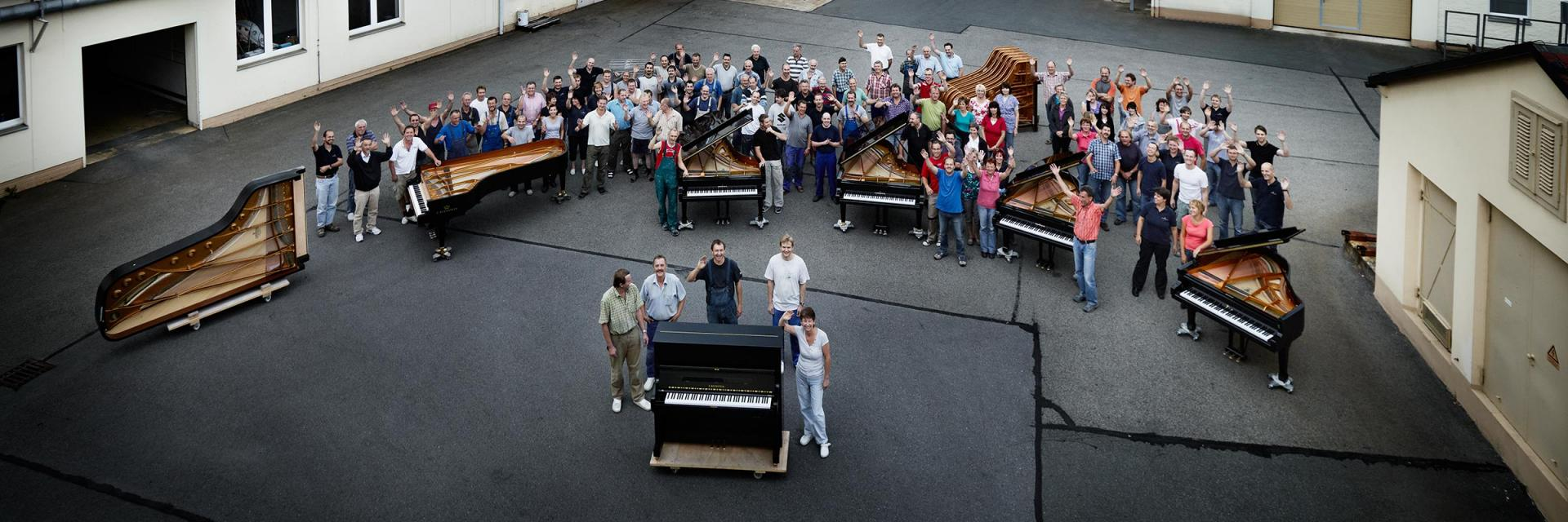 Bechstein manufaktur team