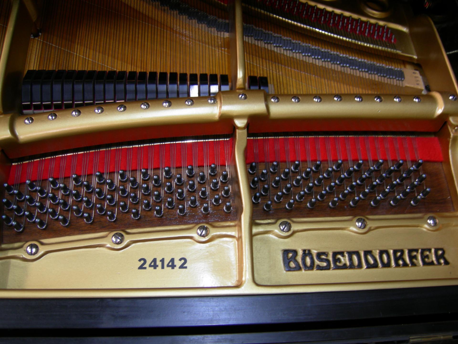 Bosendorfer cheville