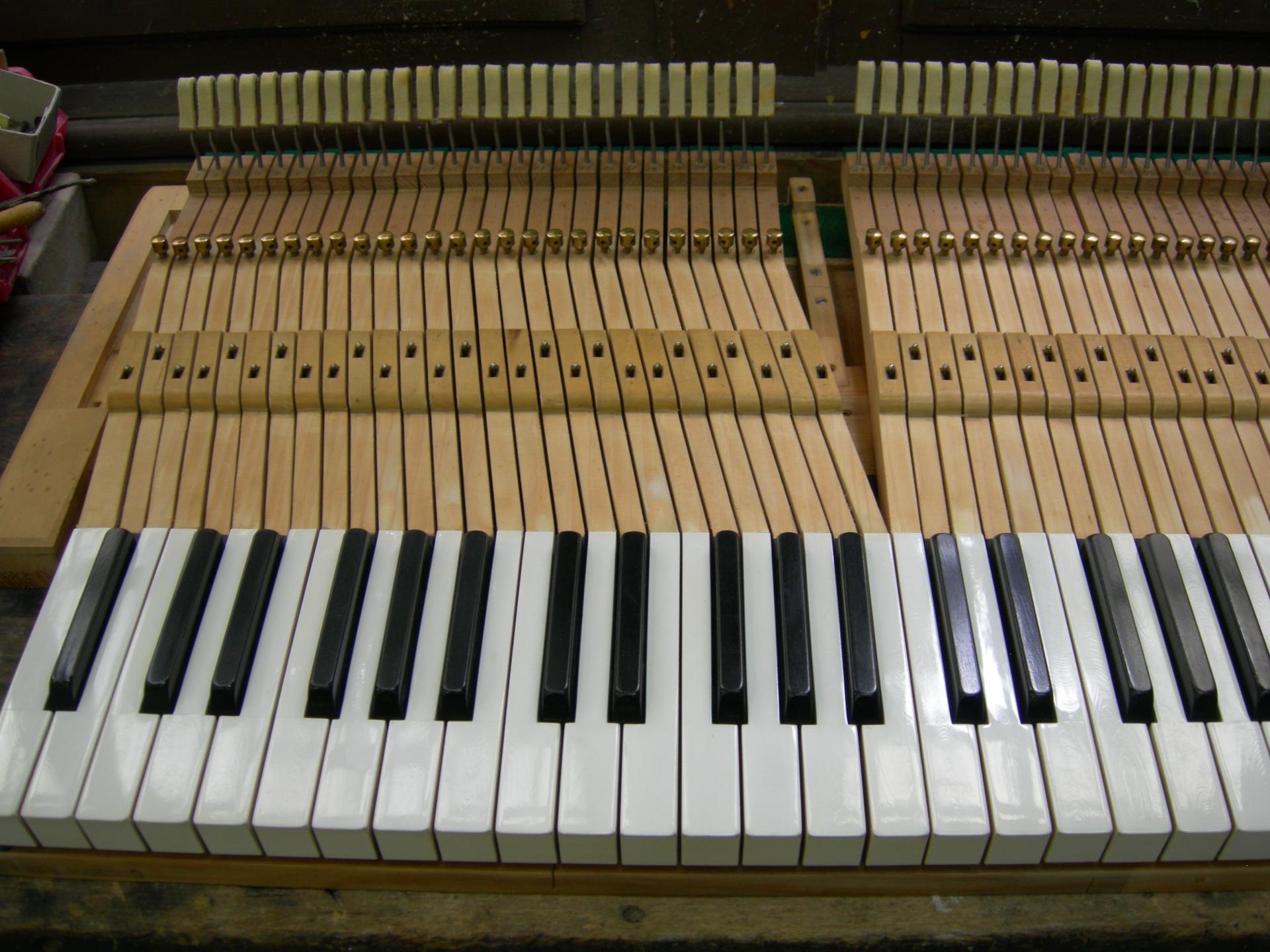 Bosendorfer clavier gauche