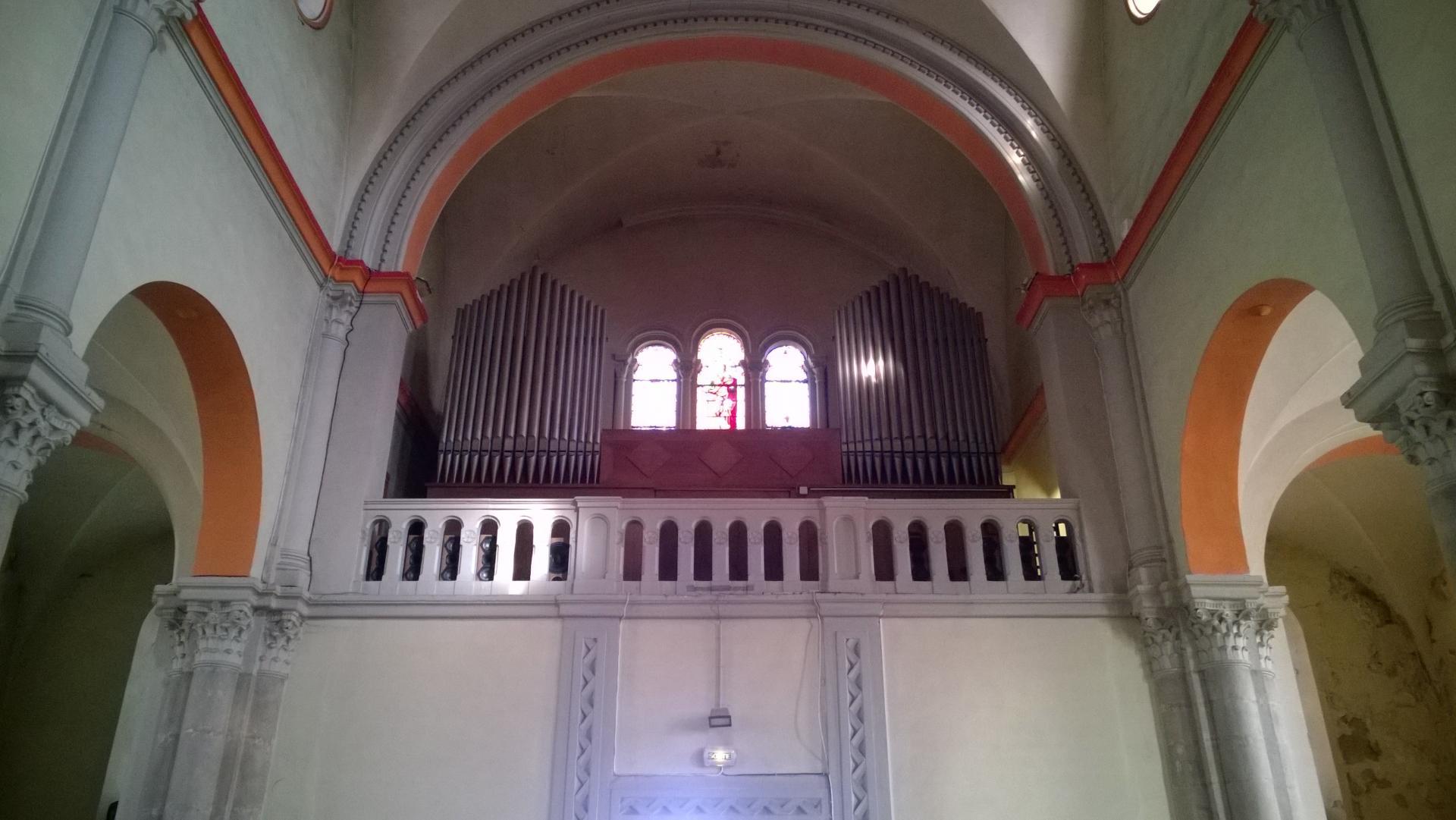 EGLISE Notre DAME ( 1860) à Bourgoin-Jallieu ( Orgue Ecclésia T250 )