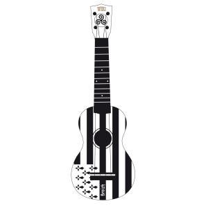 Bzh ukulele soprano flag