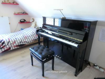 SCHIMMEL piano neuf C-116 T  SILENT YAMAHA noir brillant
