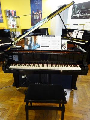 YAMAHA  piano à queue C1X-TA2-PE TRANSACOUSTIC 161 cm finition noir brillant