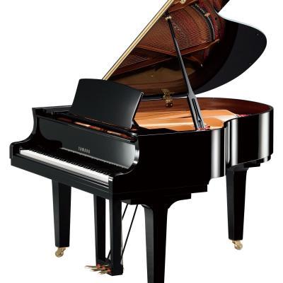Piano à queue YAMAHA C1X-SH2 noir brillant SILENT  161cm (Disponible)