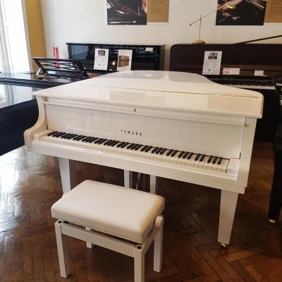 Piano à queue YAMAHA C2X-PWH 173 cm blanc brillant