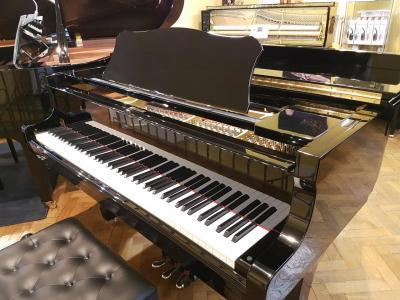 YAMAHA piano à queue C3 Conservatory noir brillant OCCASION clavier Ivorite