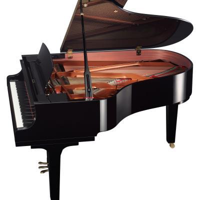 Piano à queue YAMAHA C3X-PE noir brillant 186 cm