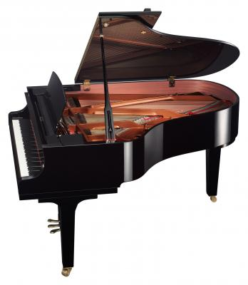 YAMAHA C3X-TA2-PE piano à queue version TRANSACOUSTIC  186 cm noir
