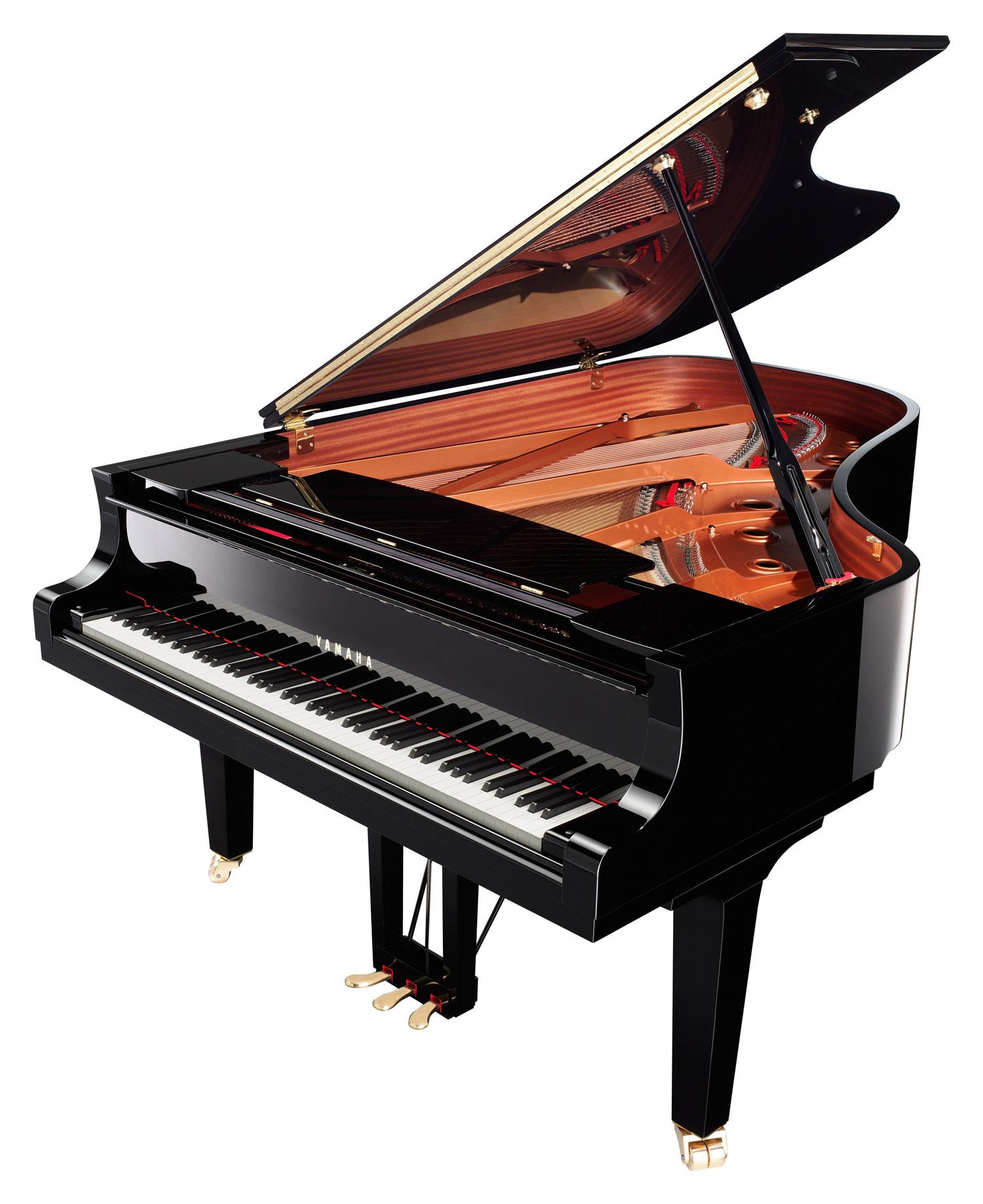 piano queue yamaha c6xpe noir brillant. Black Bedroom Furniture Sets. Home Design Ideas