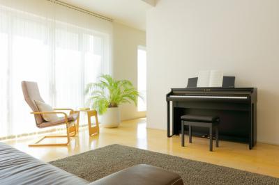 Financement en 24 x 72,95€ d'un piano numérique  neuf KAWAI CA48-B touches en bois