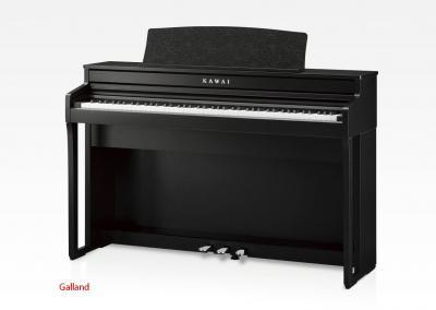 LOCATION d'un piano numérique neuf KAWAI CA49-B touches en bois