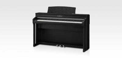 KAWAI CA78-B noir 2 x50 Watts avec touches de pianos en bois + écran Tactile