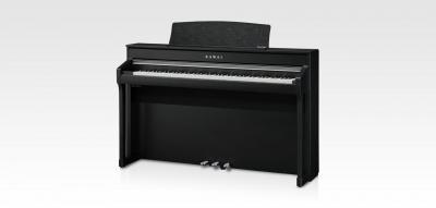 KAWAI pack CA98-B piano numérique noir touches bois