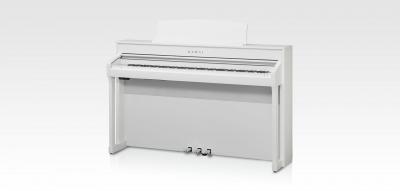 KAWAI CA98-W blanc 3 x 45 Watts avec touches de pianos en bois et écran tactile