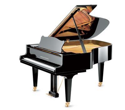 GROTRIAN-STEINWEG Piano à queue CABINET-192 noir brillant CONCERT