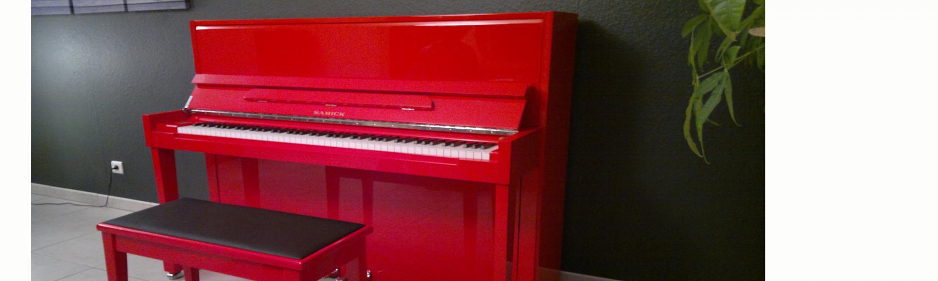 Notre catalogue complet des pianos droits ( + de 500 modèles )