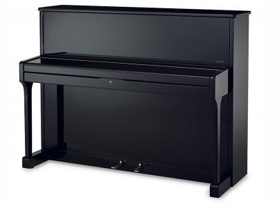 SAUTER piano droit 112-CARUS noir brillant
