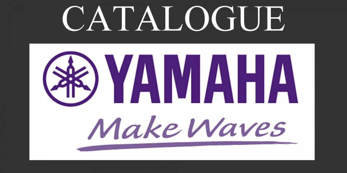 Catalogue yamaha