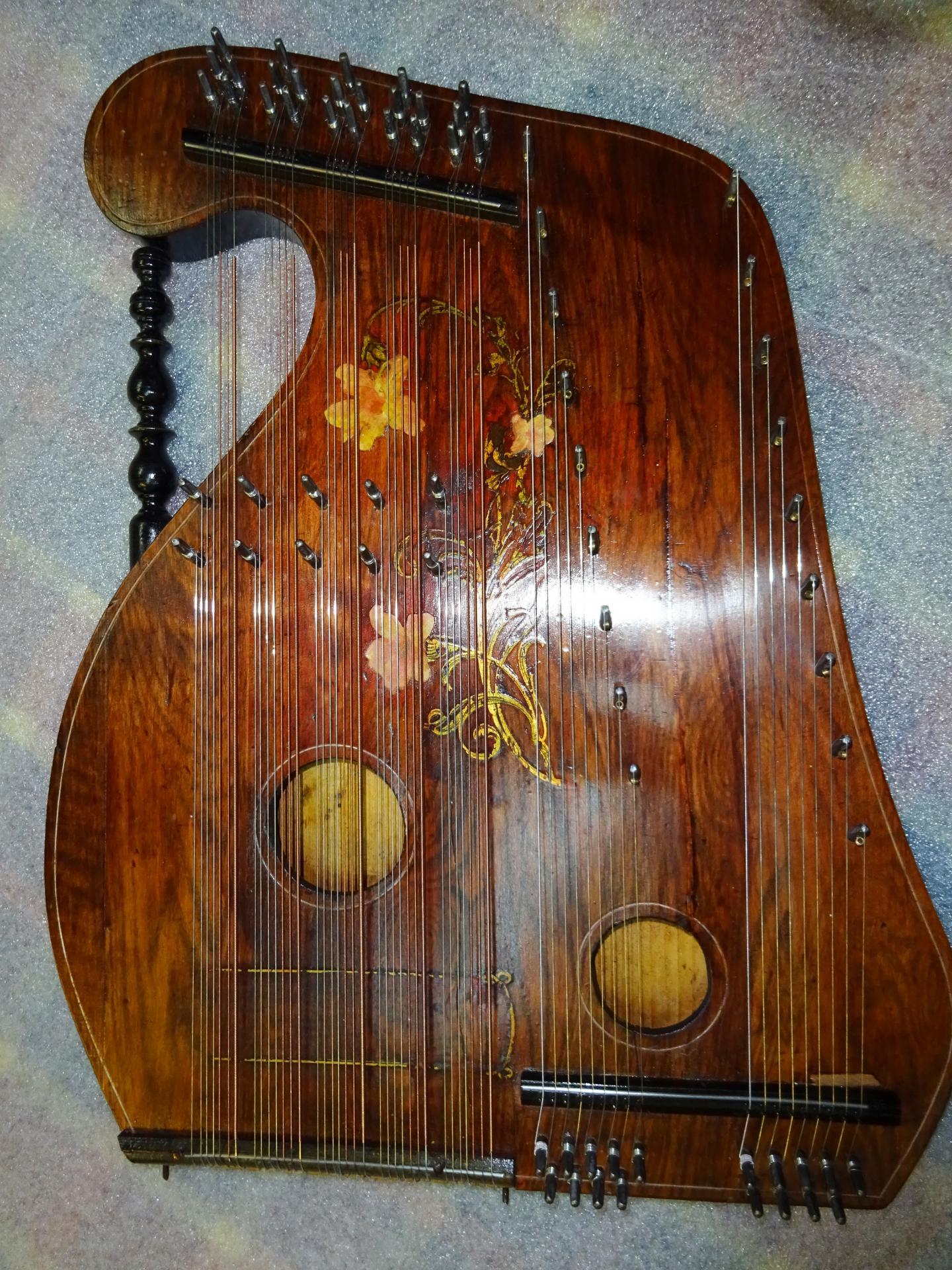 Cithare violon 16 ap