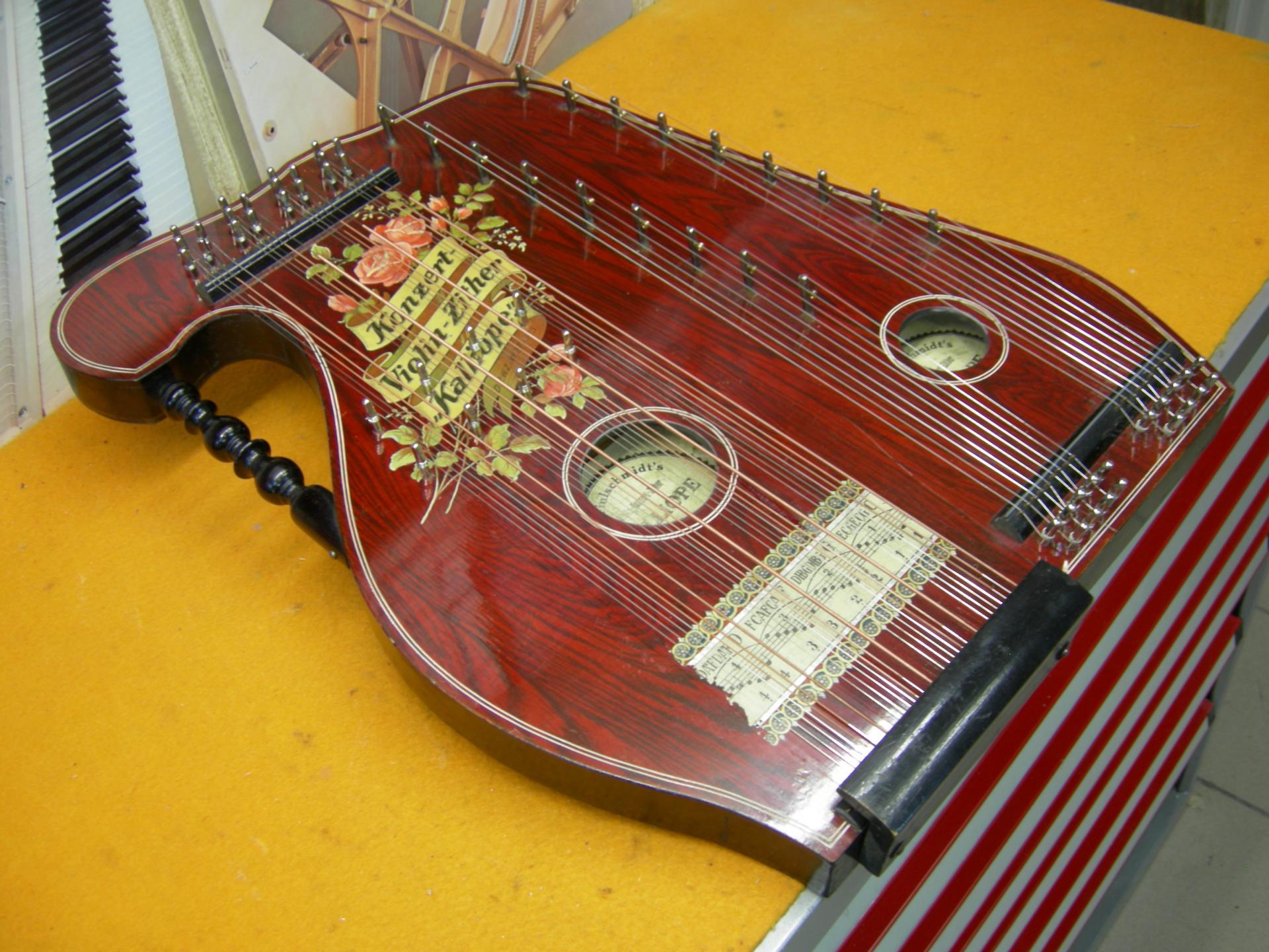 Cithare violon