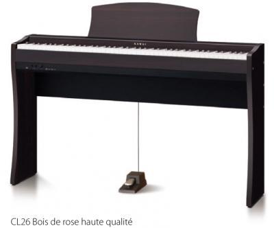 LOCATION-TEST d'un piano numérique KAWAI CL26-B