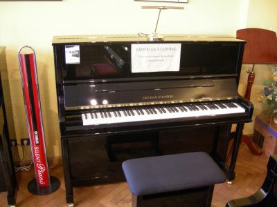GROTRIAN-STEINWEG CLASSIC-124 piano droit d'excellence