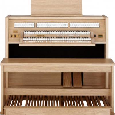 CLASSIC 250 JOHANNUS orgue de salon 2 claviers : Chêne clair