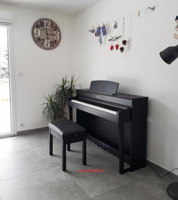 LOCATION d'un piano numérique neuf YAMAHA Clavinova CLP 635 touches GH3X