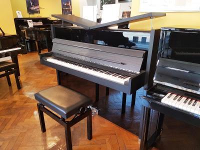 SAUTER  piano droit neuf 119-CONCENT DESIGN  frêne mat & noir brillant